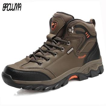 Brand Autumn Winter Work Boots Big Size ...