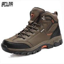 Brand Autumn Winter Work Boots Big Size 39-47 Men Outdoor Wa