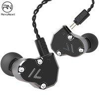 Tüketici Elektroniği'ten Kulaklıklar-Telefon ve Radyo Kulaklıkları'de Revonext QT2s 2DD + 1BA hibrid kulak kulaklık HIFI DJ monitör koşu spor kulaklık kulak tıkacı kulaklık kulaklık yükseltilmiş QT2