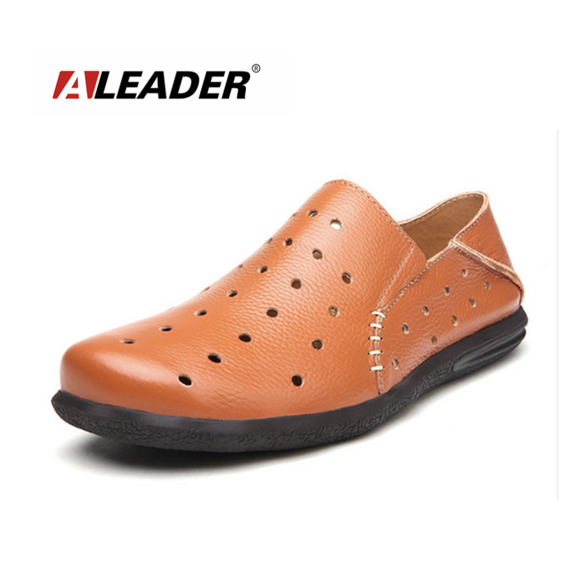 be840d0e31 Mens Casual Loafers Fashion Genuine Leather Shoes 2015 Spring Summer Slip  On Driving Shoes Moccasins for Man Flats-in Men s Casual Shoes from Shoes  on ...