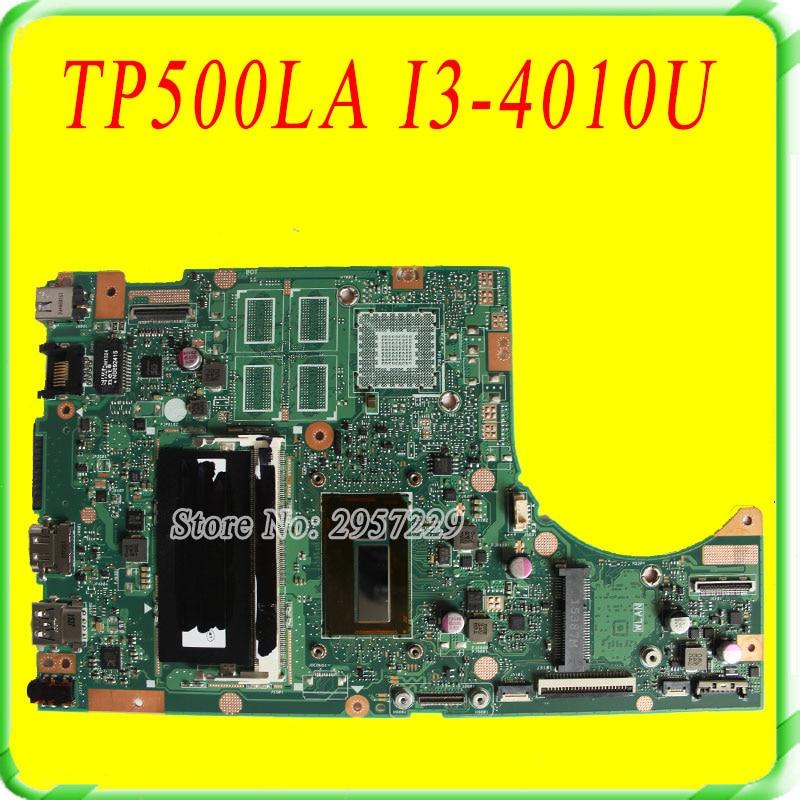 Transformer Book Flip Motherboard For Asus TP500L TP500LA TP500LN REV2.0 With I3-4010U Intergated Memory On Board 100% Work flip cover for asus transformer book