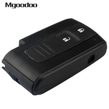 Mgoodoo 2 Buttons Keyless Entry Smart Remote Key Case Fob for Toyota Corolla VERSO PRIUS Auto Replacement Shell Car-covers цена и фото