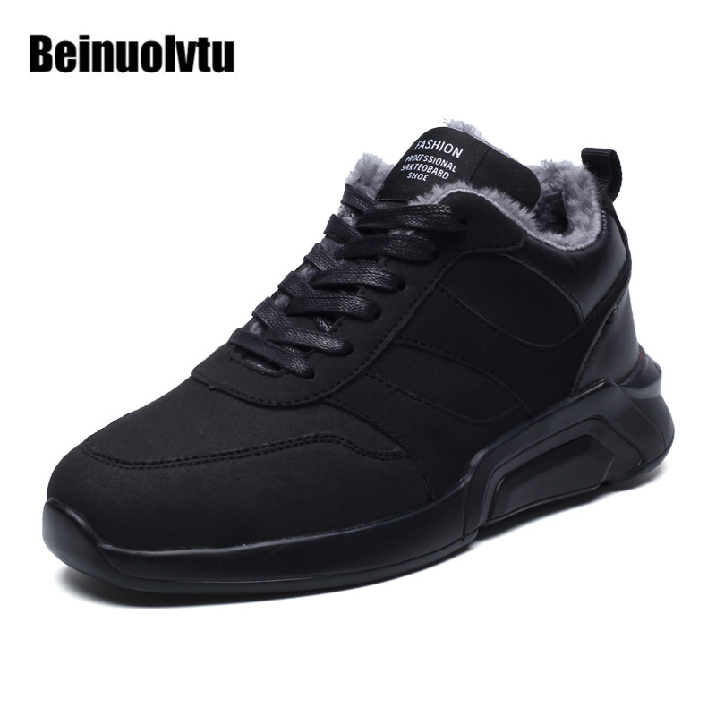 Newest Running shoes for men winter sneakers warm shoes Outdoor Sneakers high sport shoes Warm Trainers shoes for men 2016 high sneakers winter shoes men sneakers sports shoes warm sneakers for men running shoes 39 44