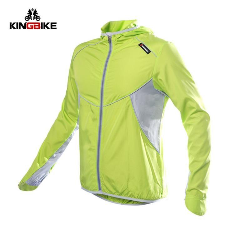 ФОТО KINGBIK Quick Dry Cycling Jacket Coat UV Sun Protection Hiking Raincoat Men Breathable Running Bike Bicycle Clothing Jersey