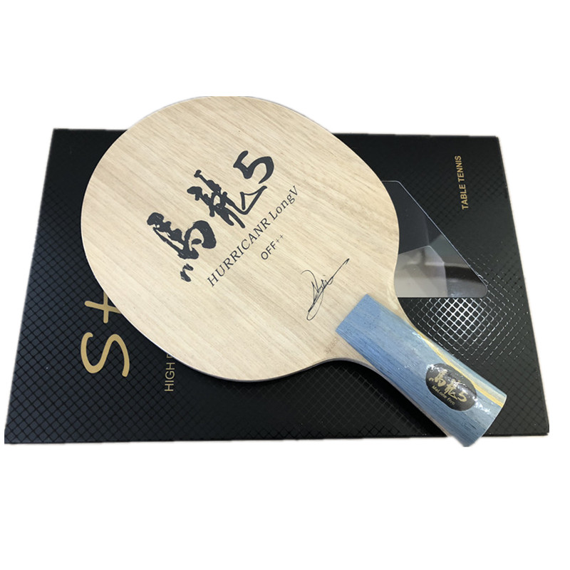 Image 3 - Hurricane Long Table Tennis Blade table tennis racket pingpong racket FL finished table tennis bats long handle shakehand racket-in Table Tennis Rackets from Sports & Entertainment