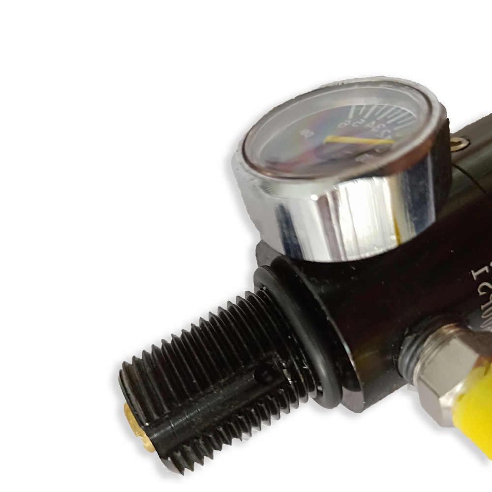 AC961 Acecare PCP Paintball Airsoft HPA válvula regulador de tanque M18 * 1,5 rosca 4500psi 1500psi/1800psi/2200psi salida presión