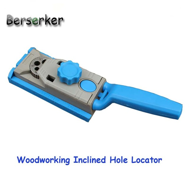 Berserker Hole Locator Tool Woodworking Drilling Guide  Polypropylene+Steel LX-036 Free Shipping