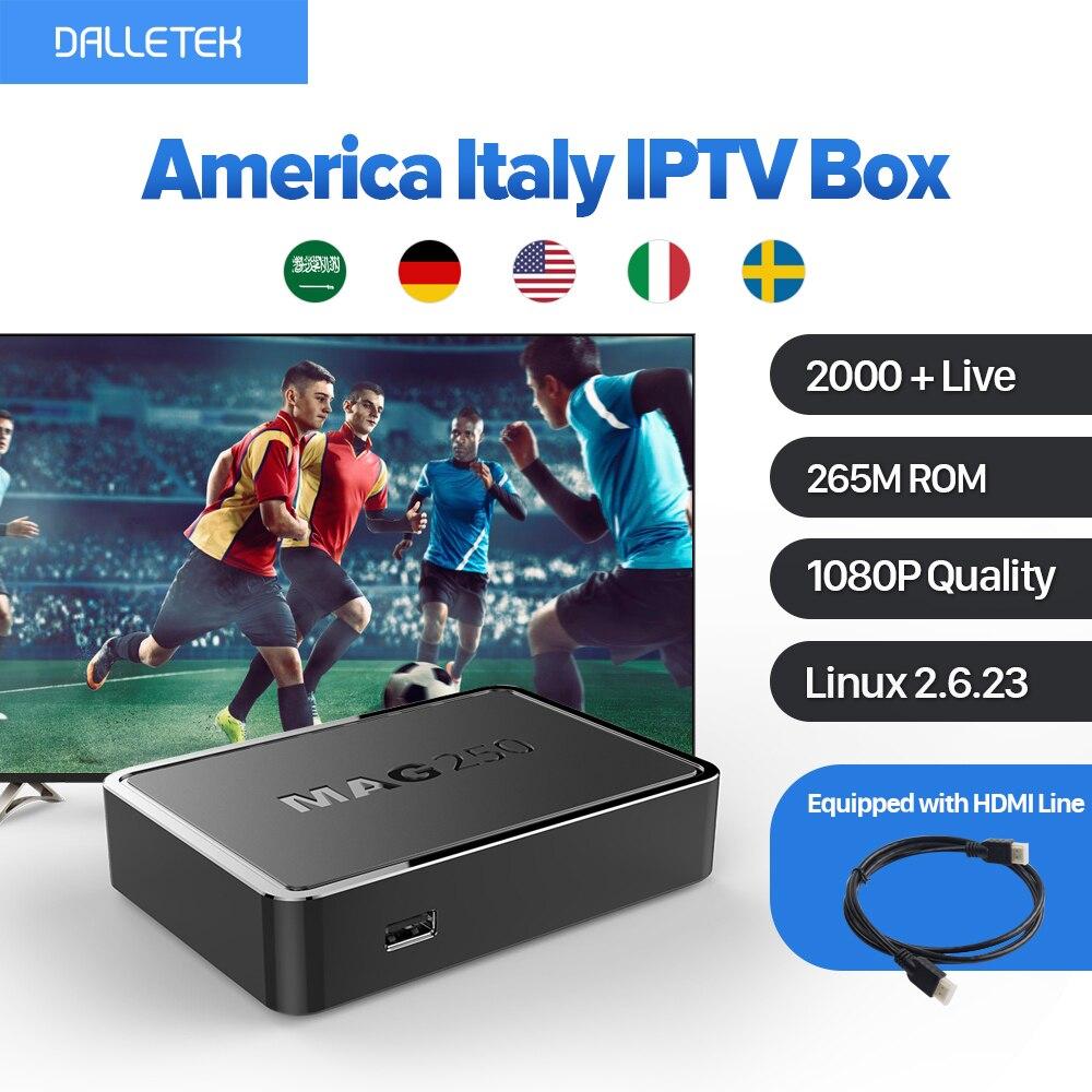 MAG 250 Iptv Box Europe Arabic Linux TV Box IUDTV IPTV Subscription America Italy Turkish Netherlands MAG250 Wifi IPTV Tv Box mag 200 в киеве
