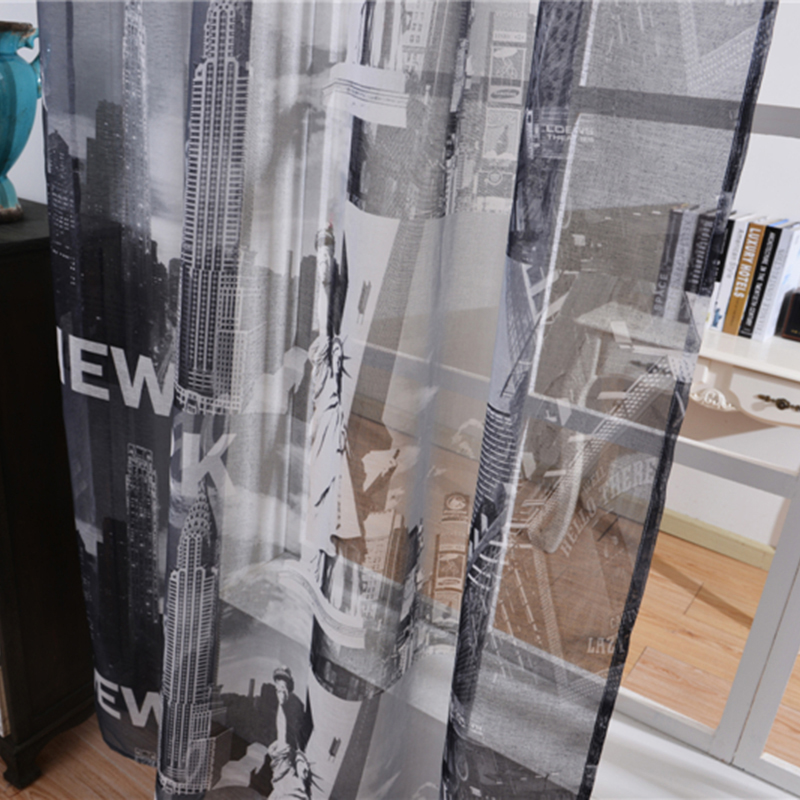 New Sheer Tulle Curtains For Bedroom Statue Of Liberty New York Window Curtains For Living Room Kitchen Curtains  Sheers