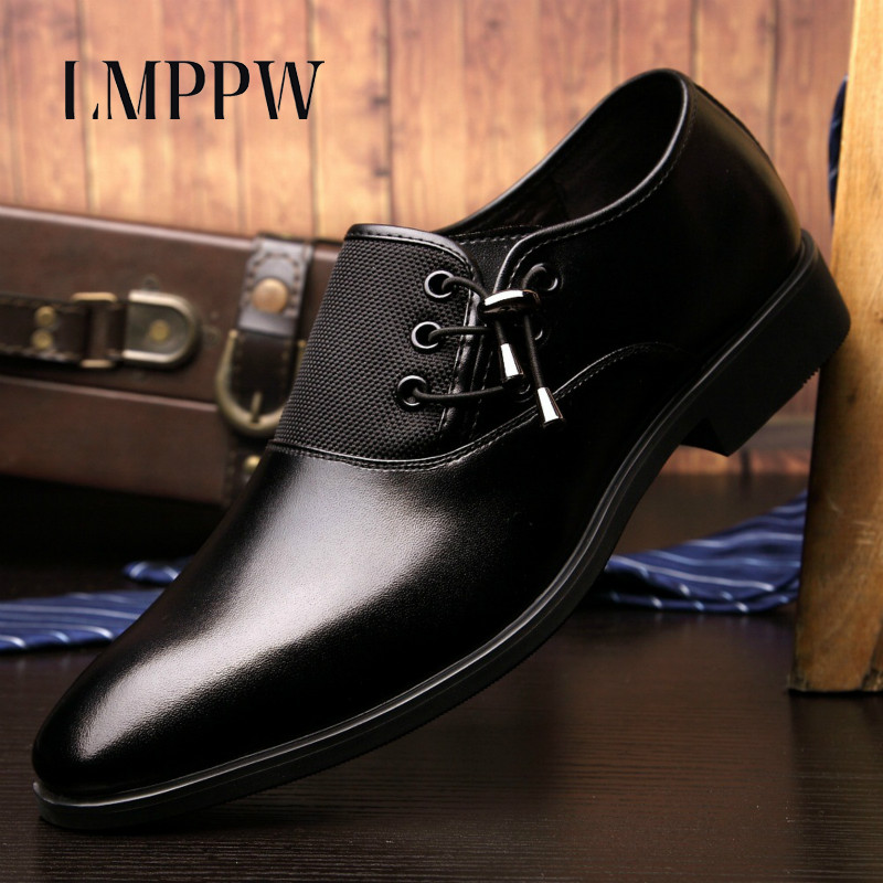 New 2017 Men Business Dress Shoes Fashion Genuine Leather Oxfords Shoes Breathable Casual Italian Design Moccasins Men Flats 2A 600lm 3 mode drop in module w cree xm l2 t6 for 26 5mm flashlight