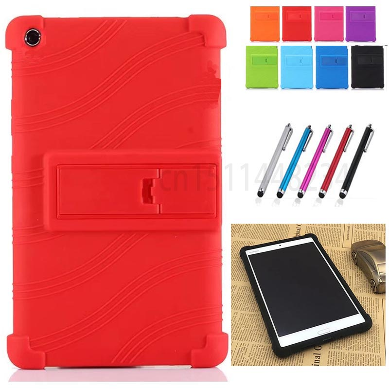 Thickening Shockproof Back cover Shell Funda Case for Huawei MediaPad M3 Lite 8.0 Tablet CPN-W09 CPN-AL00 child Silicone case
