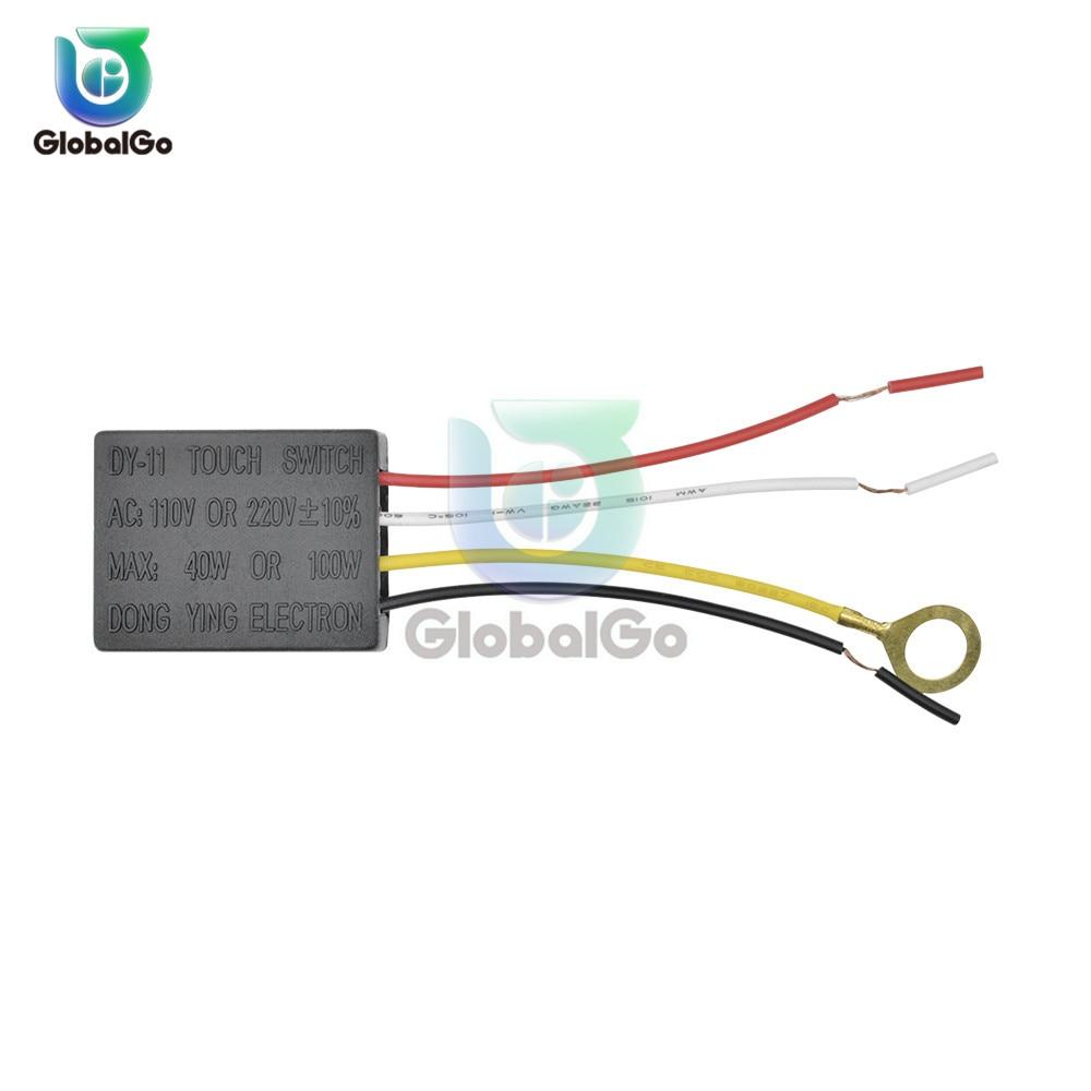 Interrupteur à capteur tactile de commande tactile | 3 voies pour la maison, variateur pour ampoules, commutateurs de lumière AC 110V 220V