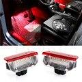 2 PCS Premium Branco LED Vermelho Luzes de Cortesia Porta Lateral Para VW Golf GTi Jetta Passat EOS Auto Lâmpada