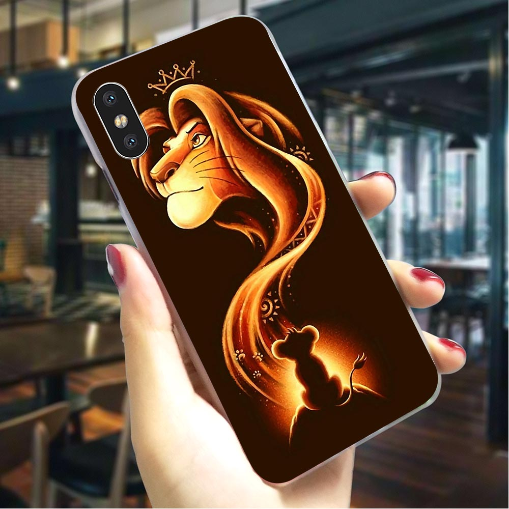 Hard <font><b>Case</b></font> for <font><b>iPhone</b></font> <font><b>6</b></font> The <font><b>Lion</b></font> <font><b>King</b></font> Cover for <font><b>iPhone</b></font> 8 Covers 7 XR Xs Max 8 Plus 5 6S 5S SE Back <font><b>Cases</b></font> Protective image