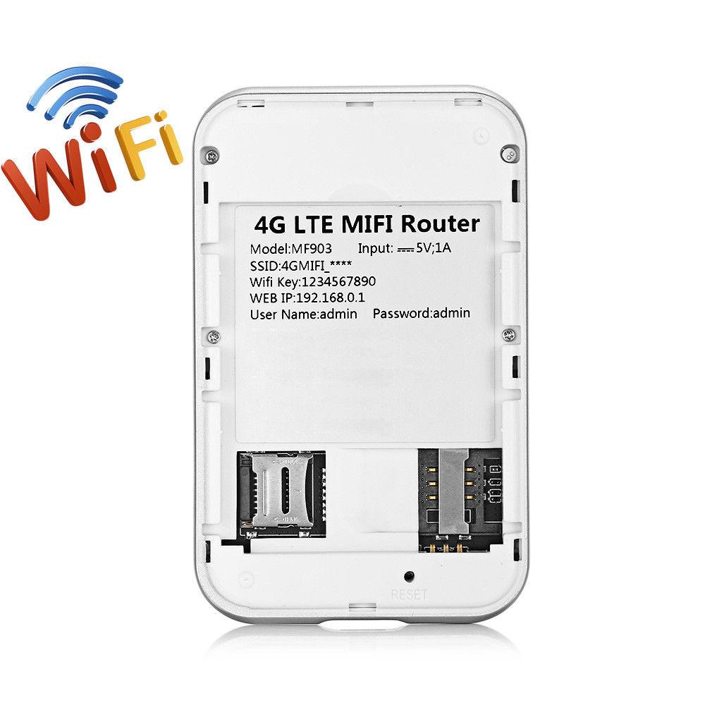 KuWFi 4G Wifi Router Mini LTE Wireless Router Unlocked 3G / 4G FDD / - Peralatan jaringan - Foto 5