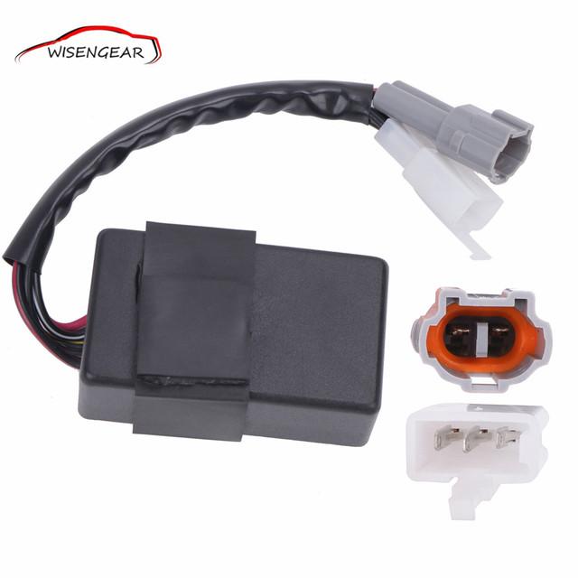 Módulo de la unidad de control cdi bobina de encendido para yamaha pw50 py50 peewee yp524 motocicleta accesorio m057 c/5
