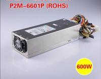 Emacro P2M 6601P Server Power Supply 600W 2U Power Supply For Server 100 240V 47 63Hz 11 7A