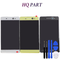 For Sony Xperia XA LCD Display Touch Screen Digitizer Assembly F3111 F3113 F3115 Pantalla With Frame