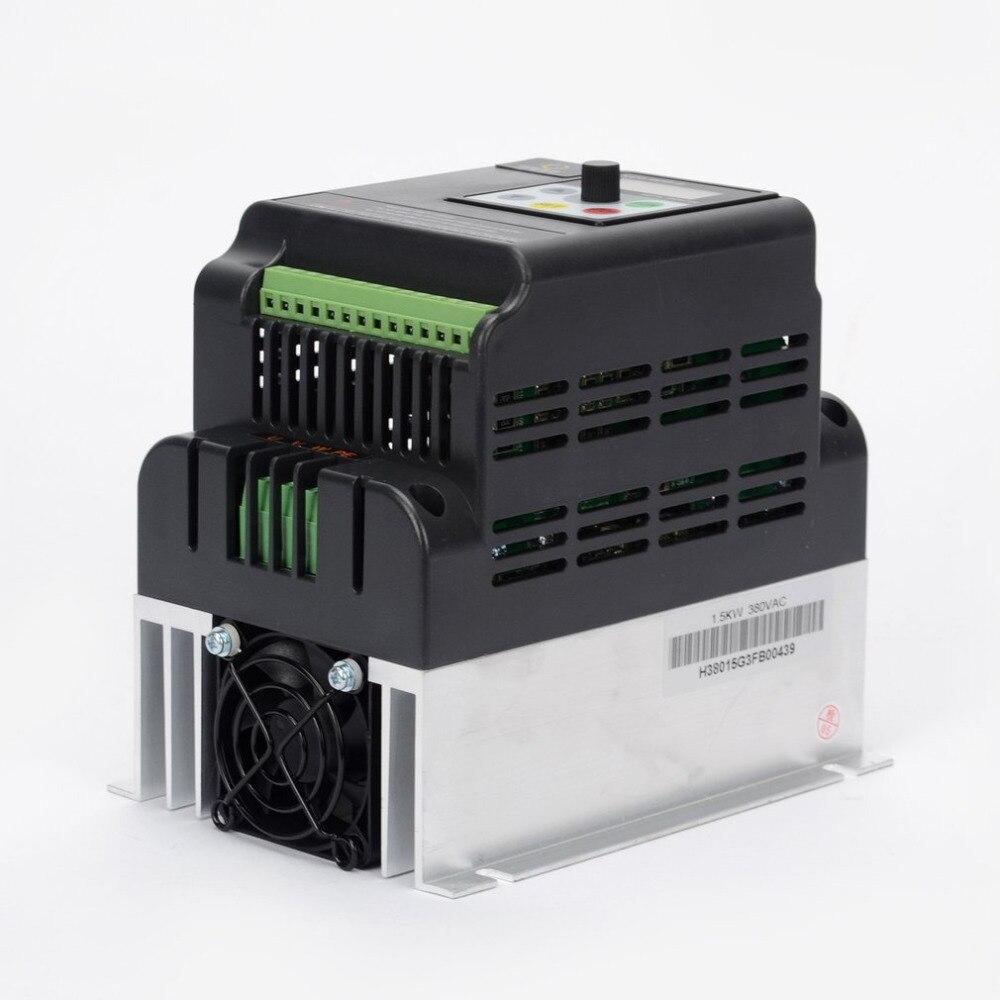 0.75KW/1.5KW/2.2KW/3.0KW Frequenza Inverter Mandrino Driver e Cavo di Estensione Box 220 v Per Il Ventilatore Torni0.75KW/1.5KW/2.2KW/3.0KW Frequenza Inverter Mandrino Driver e Cavo di Estensione Box 220 v Per Il Ventilatore Torni