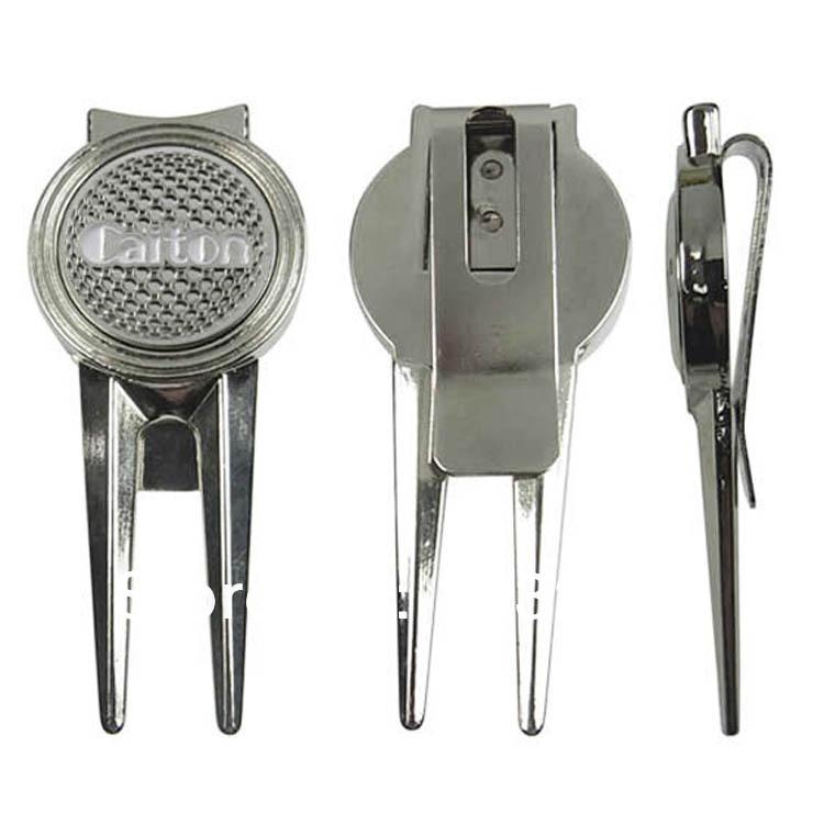 Gratis forsendelse, reparation gaffel rustfrit stål gaffel golf udstyr golf