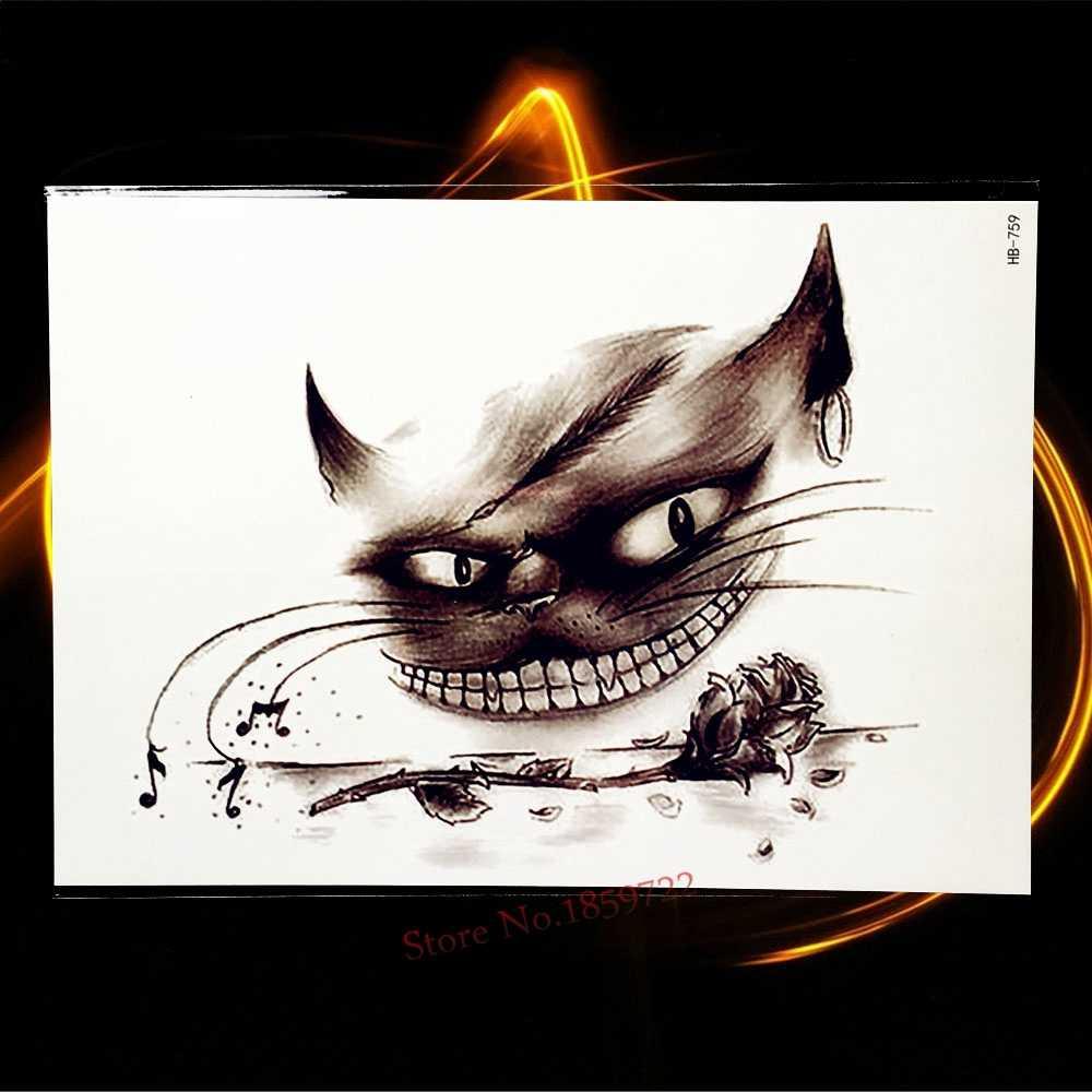 Водостойкая временная татуировка с изображением леса тимберса волка, черные чернила, боди-арт, рукава, тату для мужчин и женщин, переводная татуировка, стикер