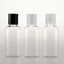 5pcs/set 50ml transparent oval bottle Qianqiu cover squeeze Plastic Sub-bottle Lotion wholesale BQ092