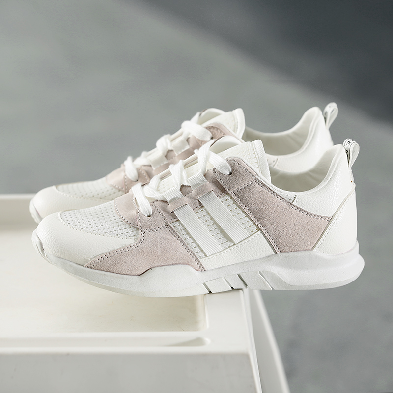Chaussures décontractées pour femmes respirant maille femmes chaussures à lacets femme baskets haute qualité chaussures pour femmes