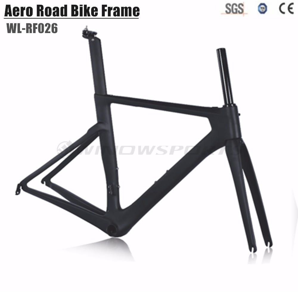 2018 Aero Design Carbon Racing Road Bike Frame Matte/glossy BB86 Carbon Road Frame High Quality Telaio Bici Da Corsa Carbonio