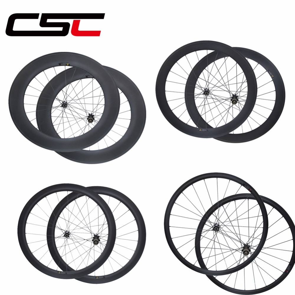 D411SB D412SB Disc brake 700C 25mm wide 30 38 40 50 60 88mm Clincher Tubular Tubeless