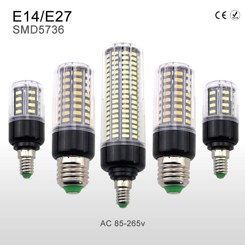 E27 Led Corn Bulb AC85-265V E14 Led Light SMD5736 Lampada 3.5W 5W 7W 9W 12W 15W 20W Lamp Energy Saving Home Lighting No Flicker