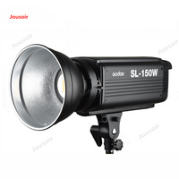 Godox SL 150W 150WS 5600K White Version LCD Panel LED Video Light Continuous Output Bowens Mount Studio Light CD50 T03