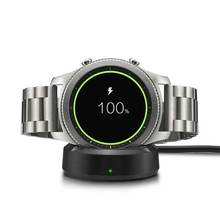 for Samsung Gear Sport SM-R600 S4 smart watch. /Gear S3 r700 Sport Charger Replacement Nightstand Charging Dock Cradle centechia portable quick charging with usb cable charging dock charger cradle for samsung galaxy gear s smart watch sm r750