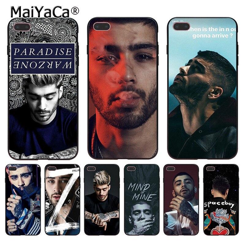 MaiYaCa Zap Zayn Malik Tatto One Direction Coque Shell Phone Case for Apple iPhone 8 7 6 ...