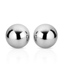 Dual Solid Steel Jiggle Balls Kegel Vagina Trainer Ben Wa Balls Passion Beating Flirtation Sex Toys for Women