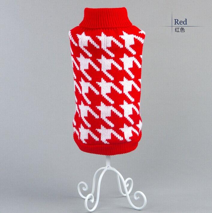 Классический ломаную клетку свитер для малого кошка свитер перемычка пальто щенок кошки одежда ragdoll канадский голая британская короткошерстная