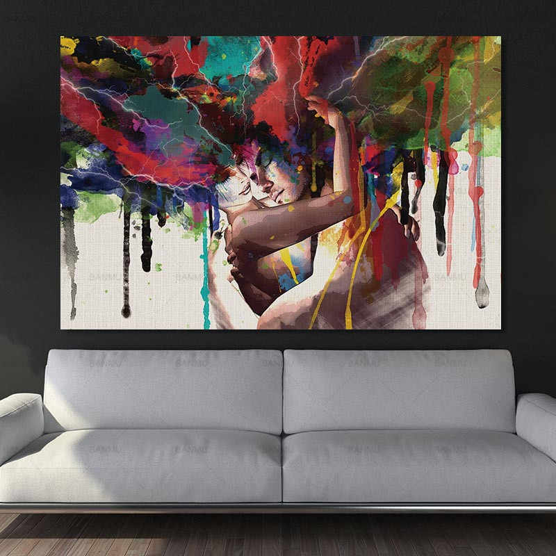 Picture wall Abstract figure painting Wall art  picture decor Canvas Painting art painting  home art decoration art pictures