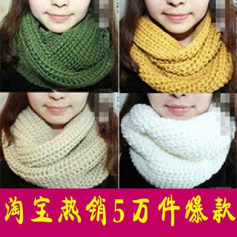 Envío gratis 2014 de moda infinito bufanda tejer bufandas ...