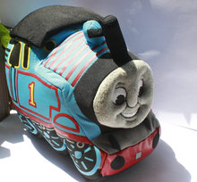 Thomas Train Cute Soft Stuffed Animal Plush Toy Doll Birthday Gift Boy Girl Gift Free Shipping