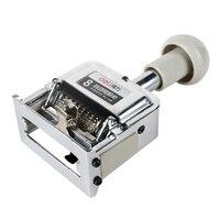 DL 전원 7508 자동 기계 8 수동 번호 기계 디지털 회전 스탬프 넘버링 whosale 교육 장비 사무