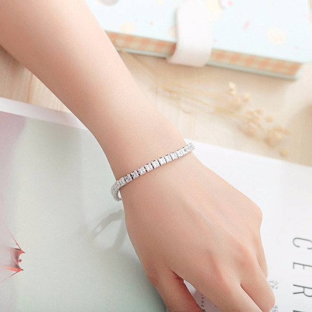Купить браслеты женские с фианитами элегантные ювелирные украшения картинки