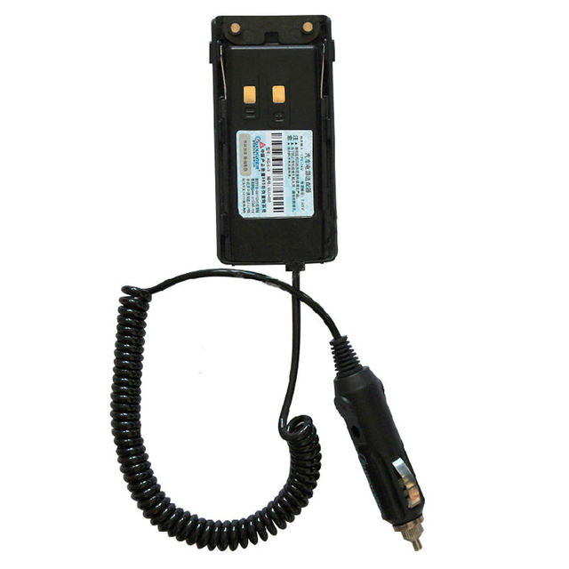 Original Wouxun Car Charger Battery Eliminator For KG UV9D KG UV9D Plus Portable two way radio