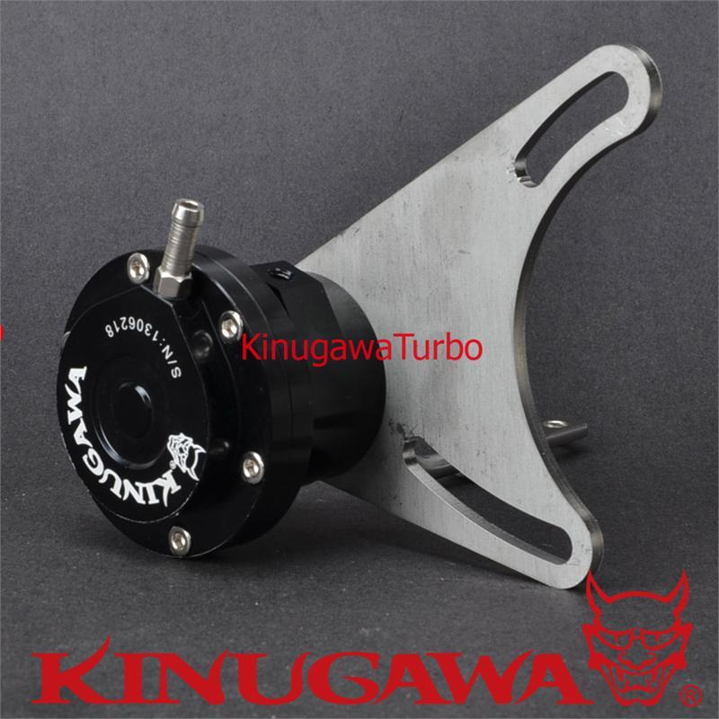 Kinugawa Adjustable Turbo Wastegate Actuator for 3 Cover + T25 / 5 Bolt Turbine Housing 1.0 bar / 14.7 Psi kinugawa turbine outlet steel flange 5 bolt f rd falcon xr6 g rr tt gt3540 turbo 412 03002 006
