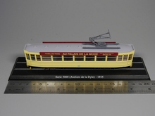 Escala Ho Modelo 1: 87 escala tranvía Serie 5000 (Ateliers de la Dyle) 1935 de fundición modelo de coche