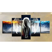 Pop Art Canvas painting Wall Pictures for Bedroom Decorative Home Decor Angel wings