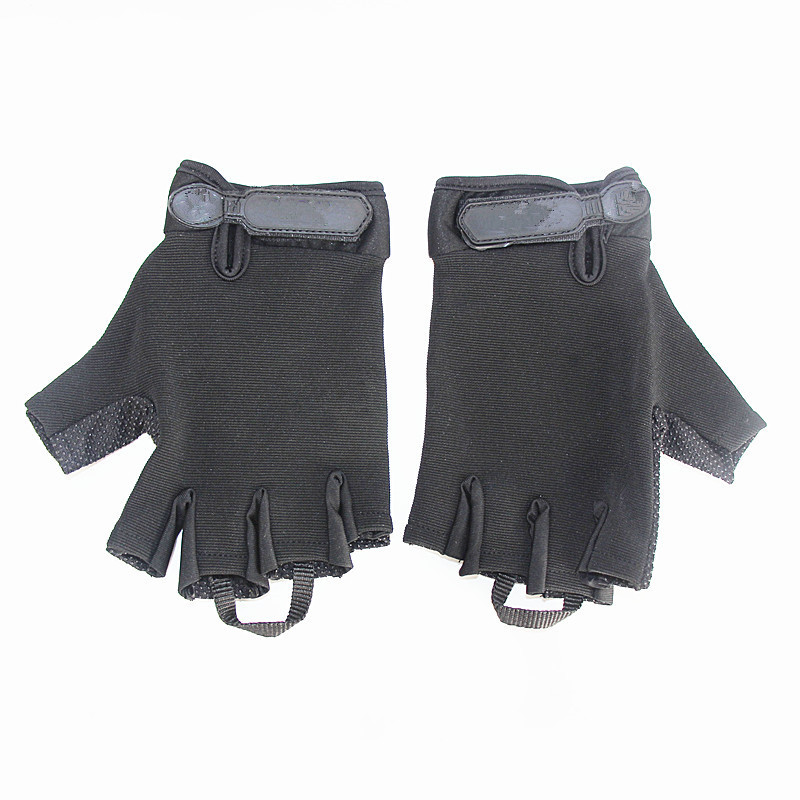 Tactical Half Finger Glove Hunting Adjustable Semi-Finger Gloves Outdoor Military Combat Breathable