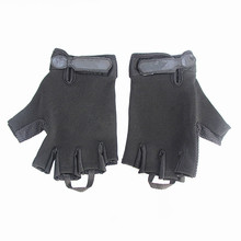 Tactical Half Finger Glove Hunting Adjustable Semi-Finger Gloves Outdoor Military Combat Breathable