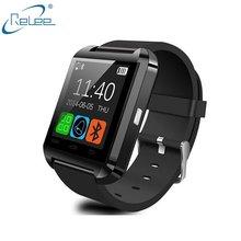 Relógios inteligentes U8 Bluetooth Inteligente Relógio de Pulso Companheiro Telefone com Telefone Android