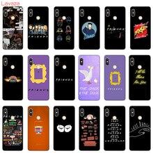 Lavaza Case for POCOPHONE F1 Cases Xiaomi A2 Mi8 Lite A1 Redmi Note 4X 5 6 Pro Friends Minimalist serie tv Cover