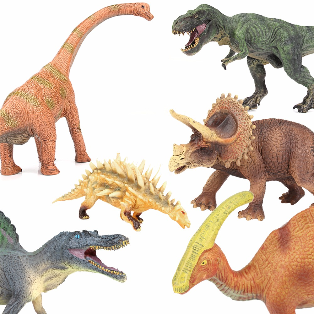 Lamwin 4Pcs/Lot Middle Size Jurassic Dinosaur Plastic Dinosaurs Egg Dragon Toys Solid Action Figure Model Gift Toy jurassic velociraptor dinosaur pvc action figure model decoration toy movie jurassic hot dinosaur display collection juguetes