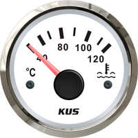 """KUS 52mm(2"""") Car Water Temp Temperature Gauge Meter Indicator 40-120 12V 24V"""